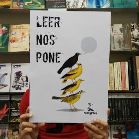 Leer nos pone, nuestro lema para la Feria del Libro de Madrid