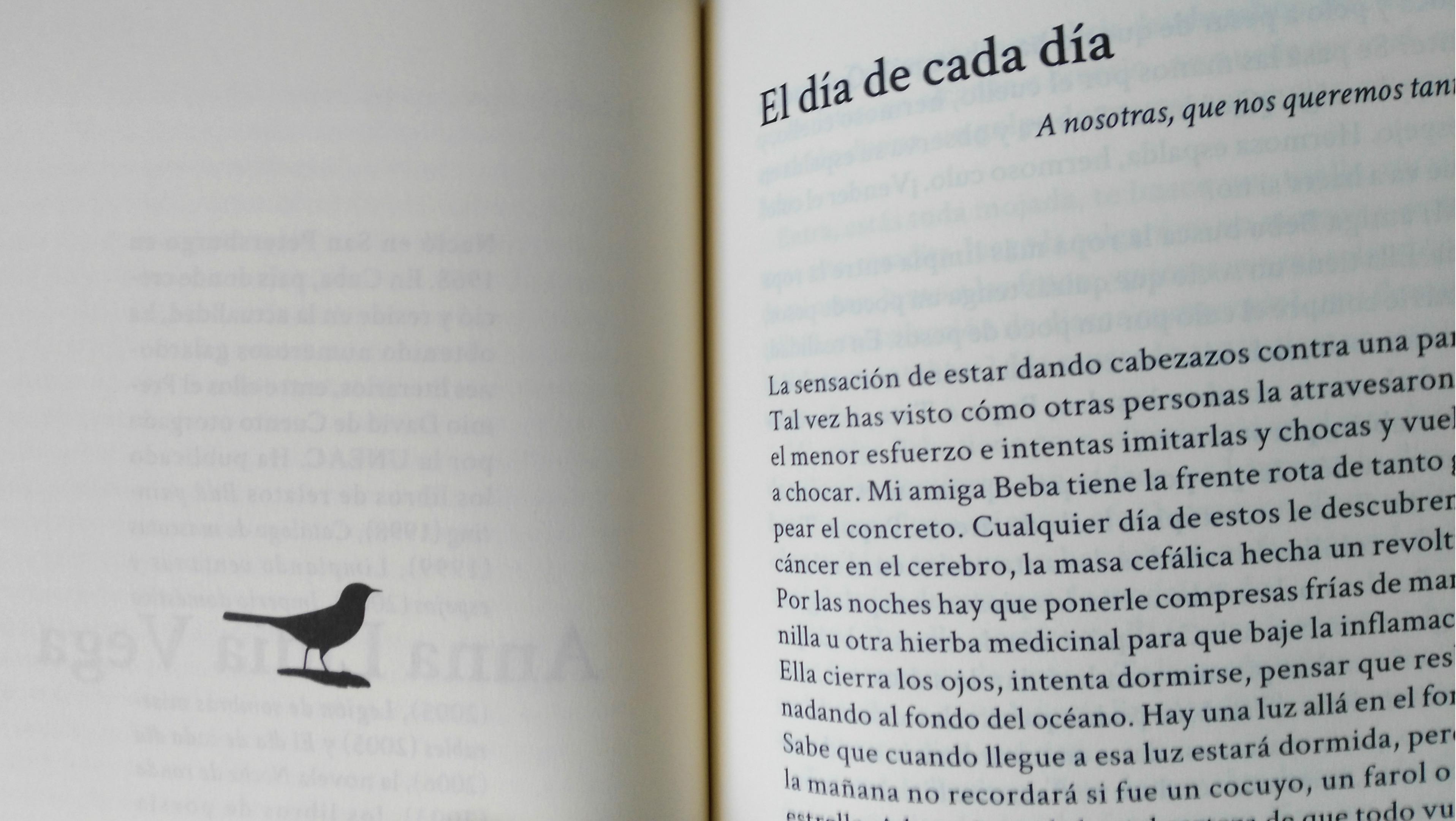 Uno de los relatos e ilustración de 'Mañana hablarán de nosotros'