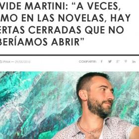 FOCUS entrevista a Davide Martini