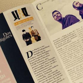 Dos Bigotes en la revista La Tundra